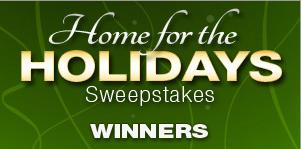 Newegg's 'Home for the Holidays' Sweepstakes winners