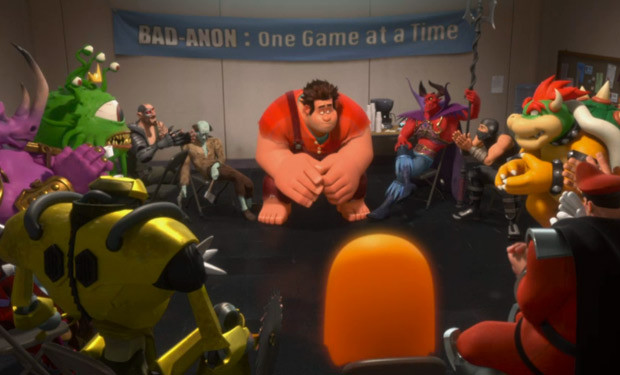 Video game characters in Wreck-It Ralph