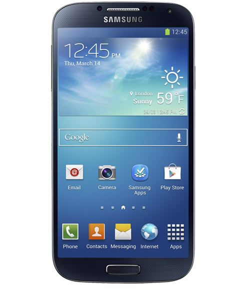 Samsung lifts the curtain on the Galaxy S4