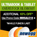 Newegg's Tablet Overstock Blowout Starts Today