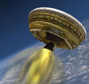 NASA is Using a Flying Saucer to Get Us to Mars