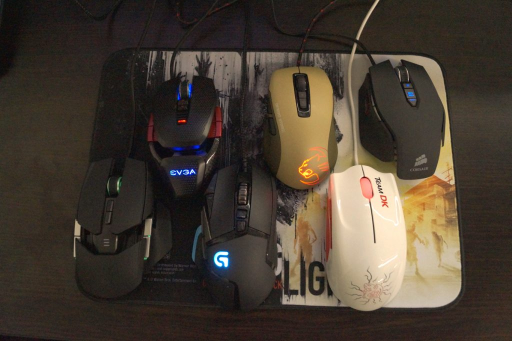 Gaming Mice Contendors