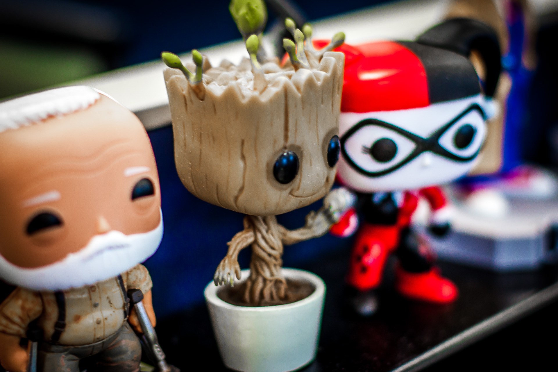 Funko Friday #1: Groot, Weeping Angel, and BB-8