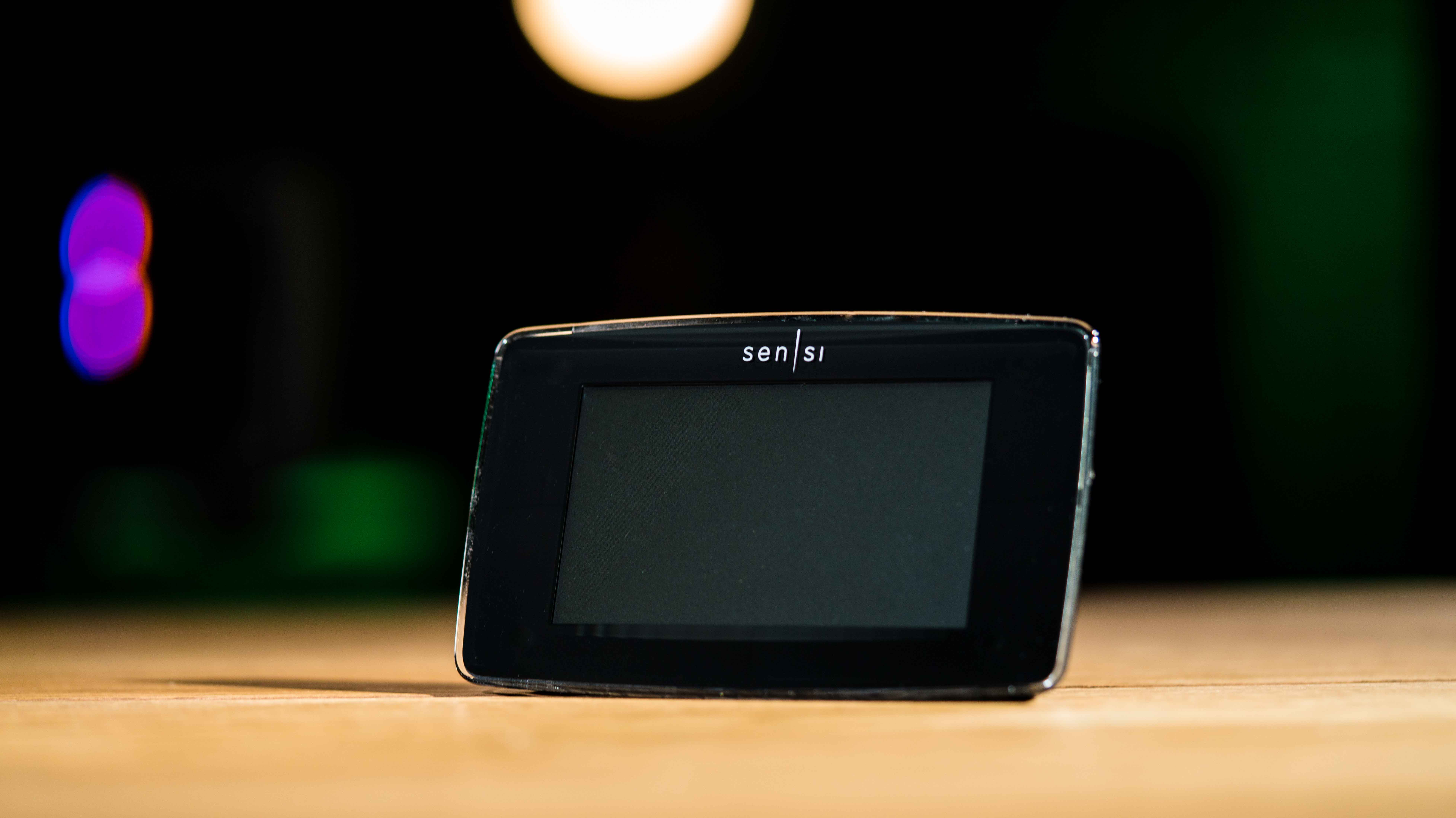 Emerson's Sensi Touch thermostat is a touchscreen update to the previous model.