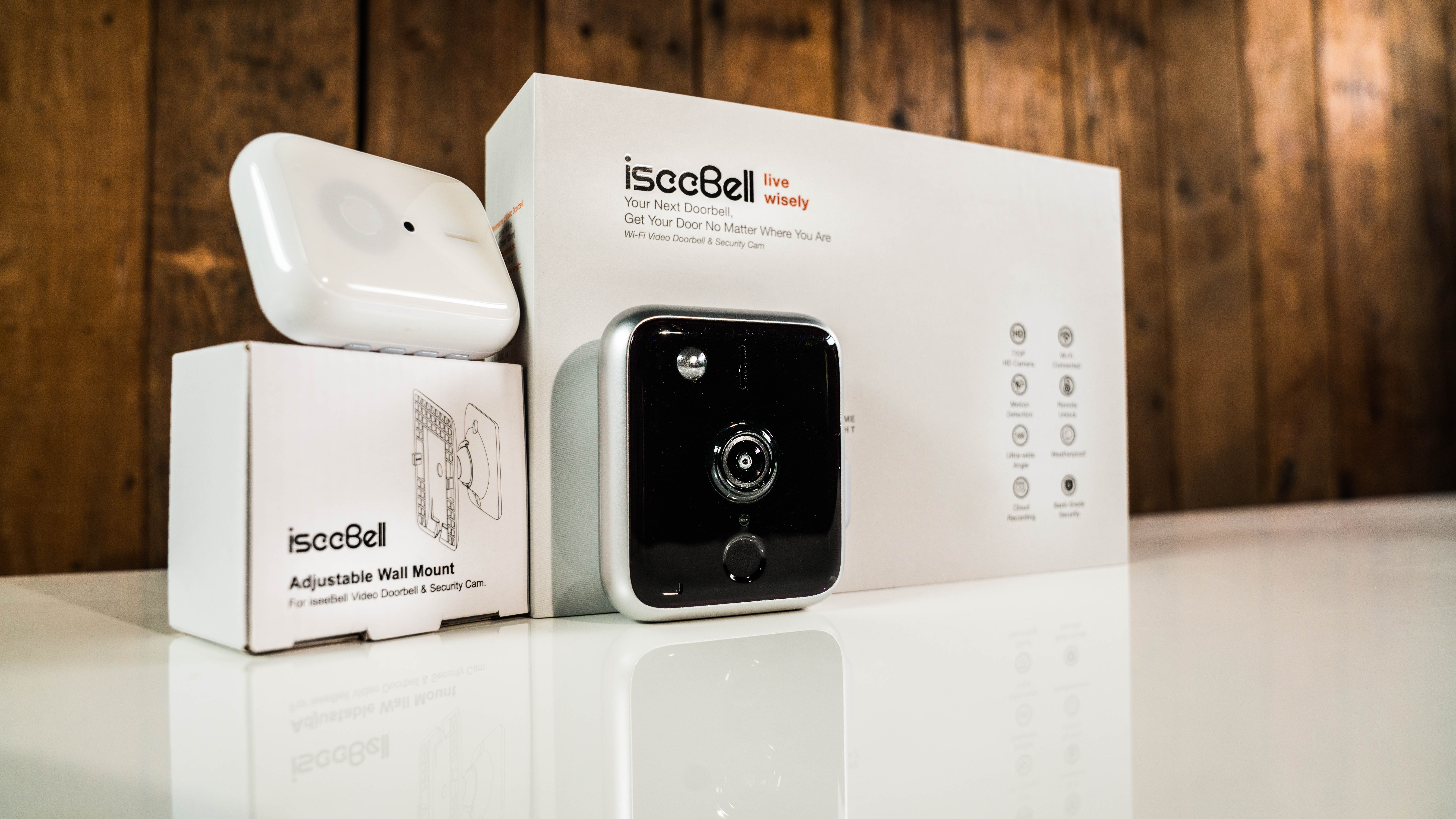 iseeBell is an up-and-coming smart doorbell company, using a small-form with some unique features to set it apart from the crowd.