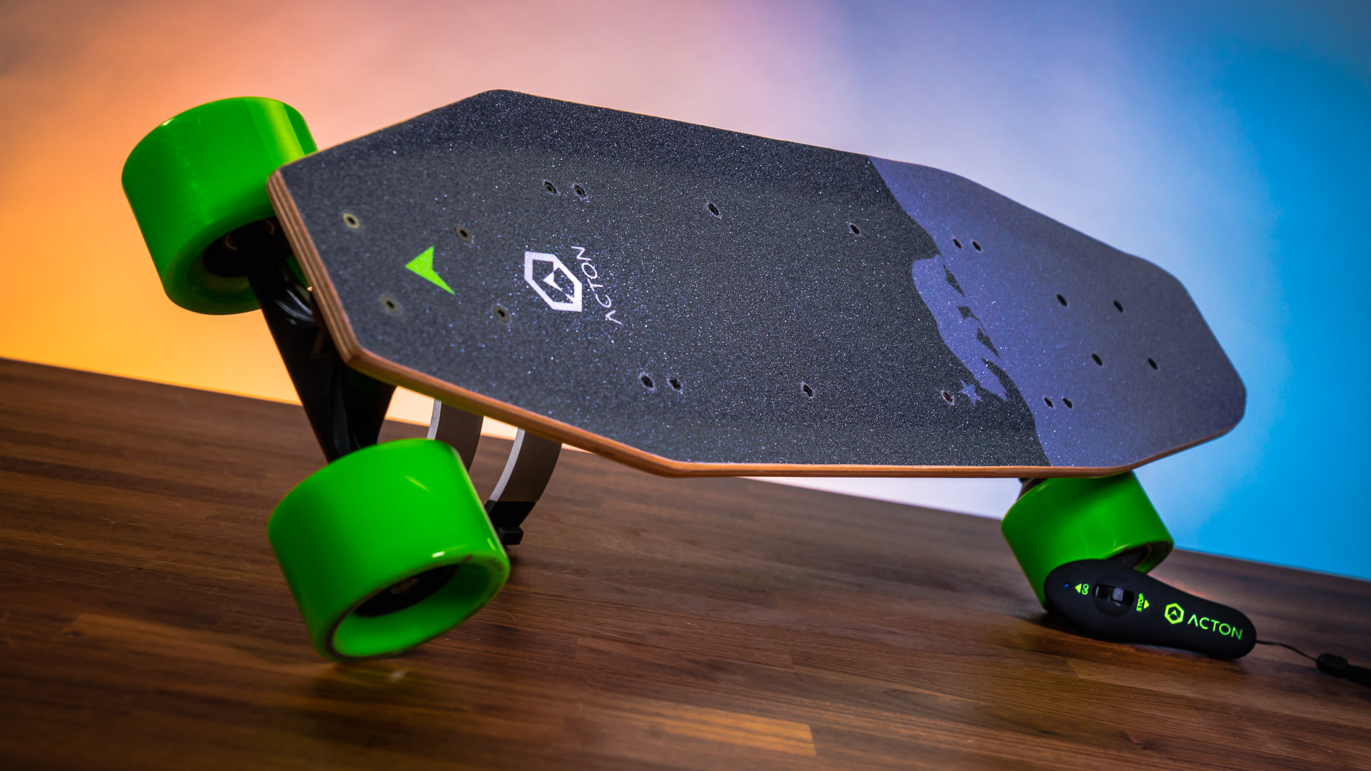 Stepping up the power and range, the BLINK S is one of the next-level electric skateboards with a seven-mile range and max 15mph.