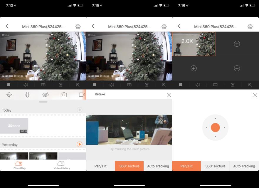 EZVIZ's Mini 360 Plus Wi-Fi Camera is Small-Form Home Security