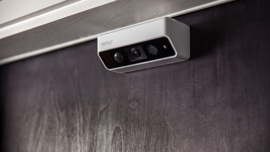 Smart home security, smart cameras, smart security, door cameras. The Remo+ DoorCam is the first over-the-door smart home security solution on the market, and it is an innovative solution.