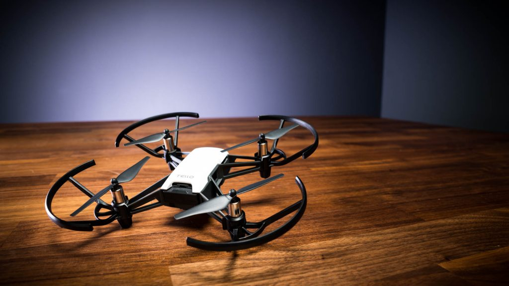 Ryze, Tello, beginner, drone. The Ryze Tello drone packs some fun for kids and adults into a cheap, pint-sized package.