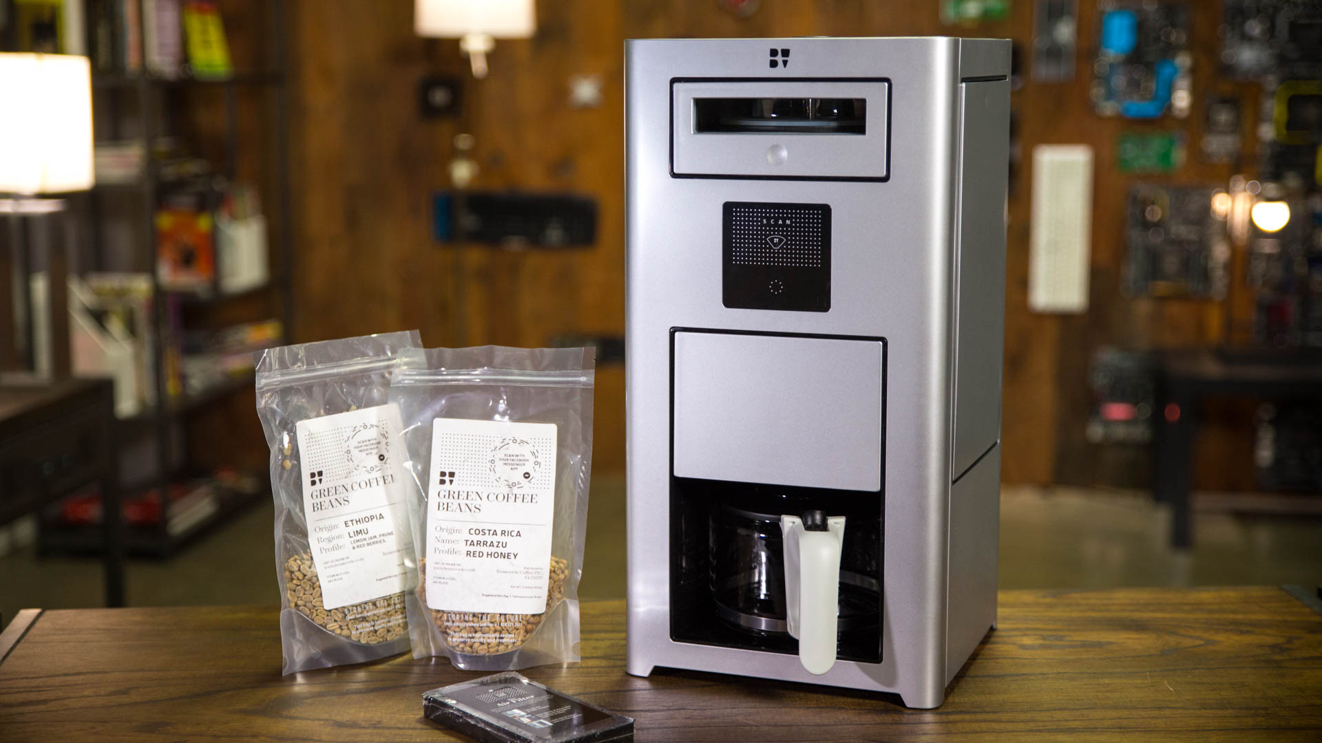This Luxury Smart Coffee Maker Roasts, Grinds, and Brews Your Coffee