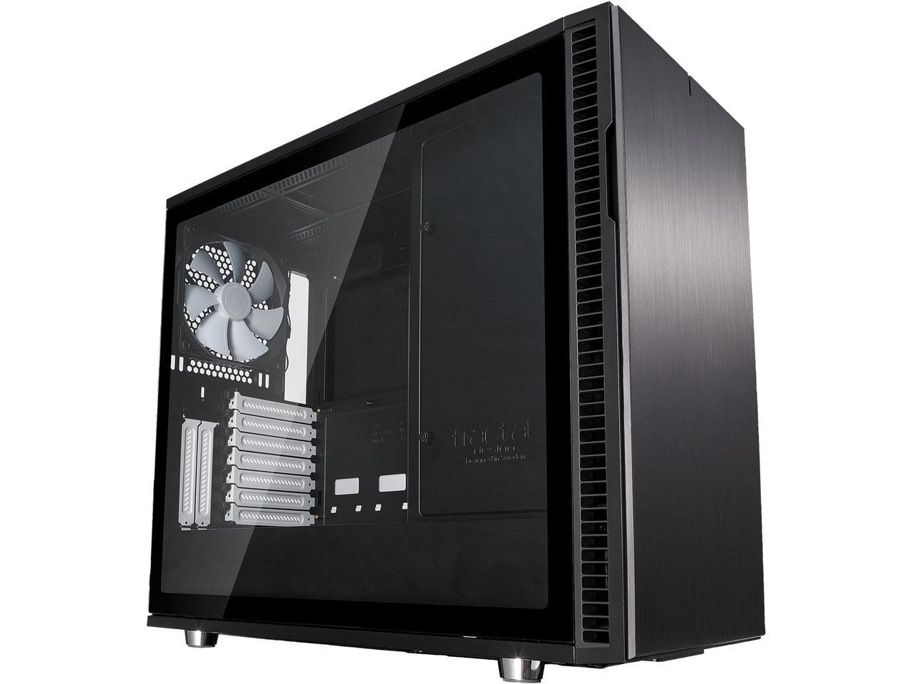 Fractal Design Define R6 Black Brushed Aluminum Steel Atx Silent Extractor Motherboard Circuit Board Component Puller Tool Alex Nld Modular Tempered Glass Window Mid Tower Computer Case