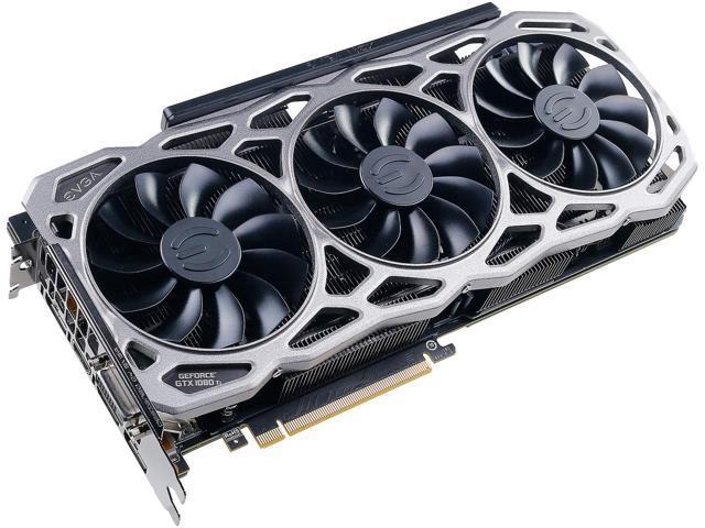 EVGA GeForce GTX 1080 Ti FTW3 GAMING, 11G-P4-6696-KR, 11GB GDDR5X