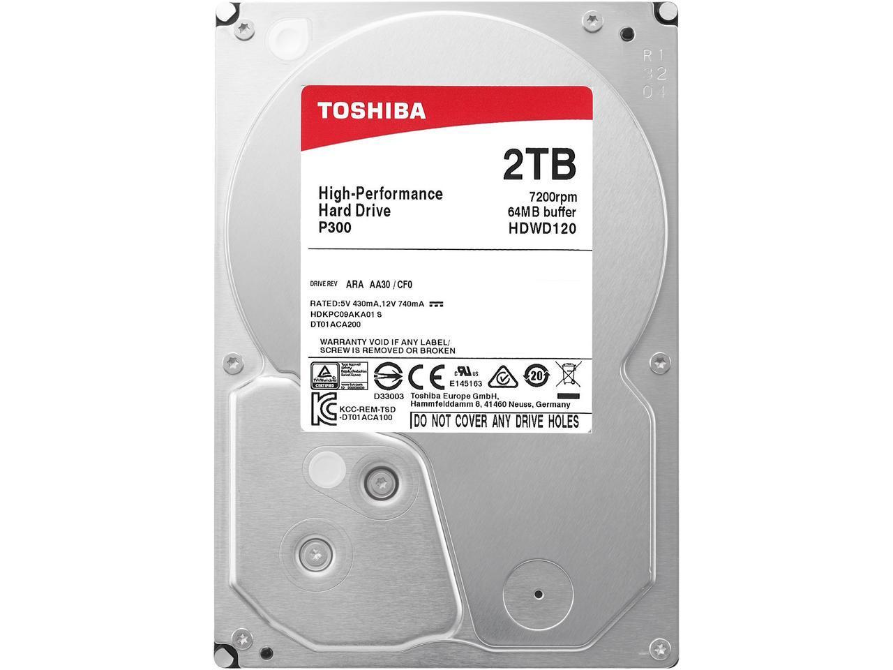 3TB New for Seagate ST3000VX000 Video 24//7 3TB 64MB 7200RPM SATA3 HDD Hard Drive