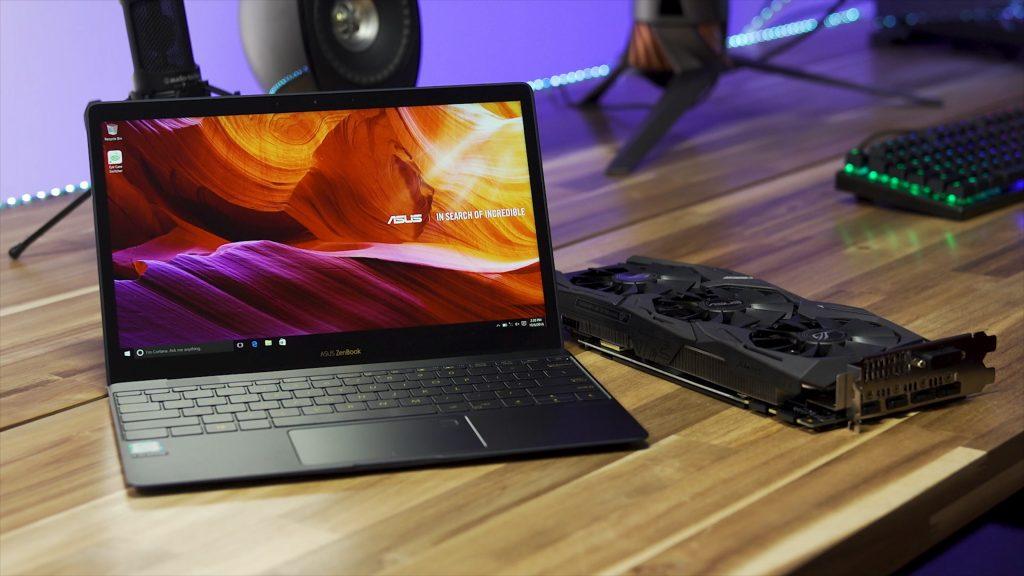 laptop input