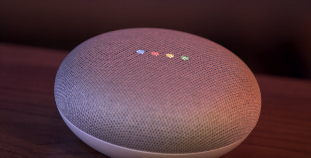 The Google Home Mini is a compact little voice controller for a more covert setting.