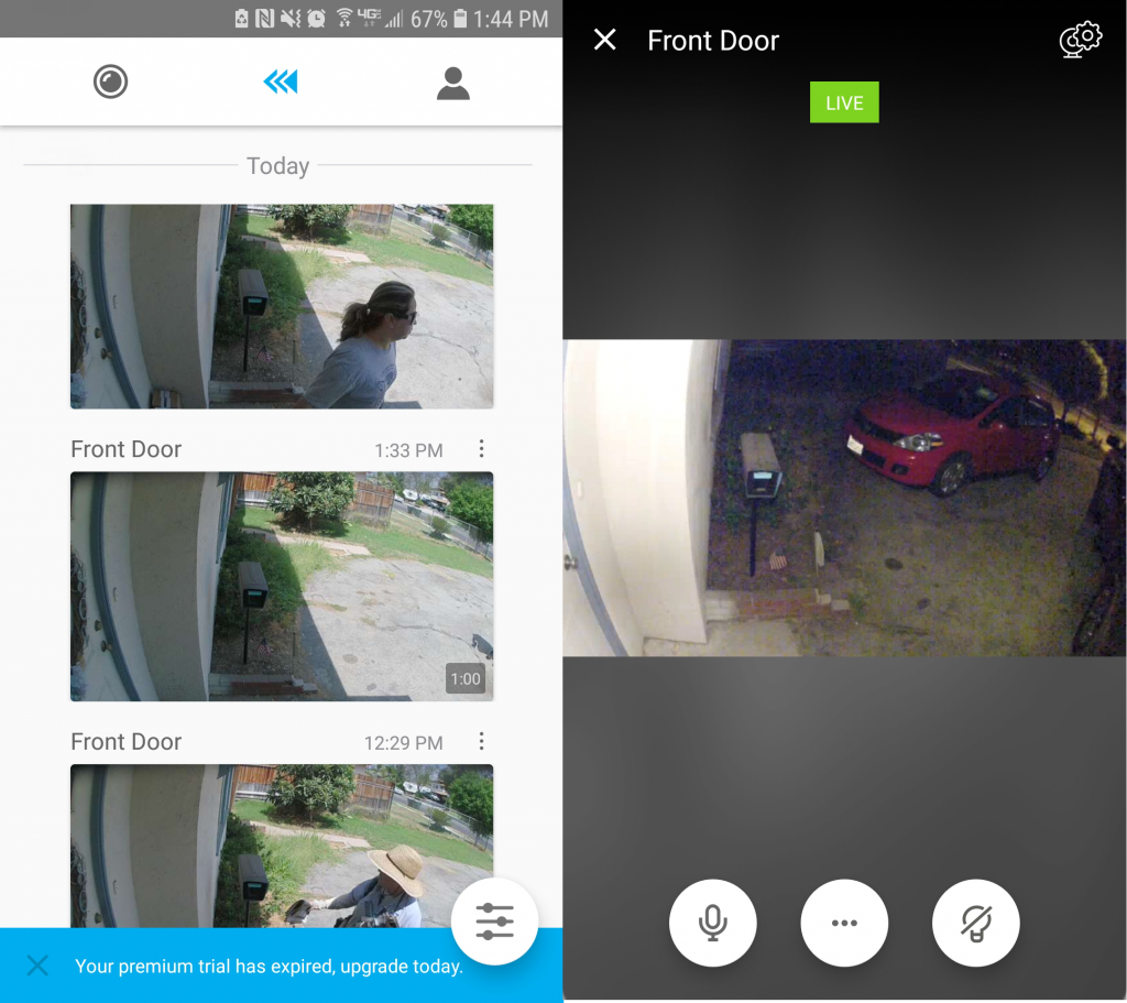 Smart video surveillance gives users access to their home security control from anywhere.
