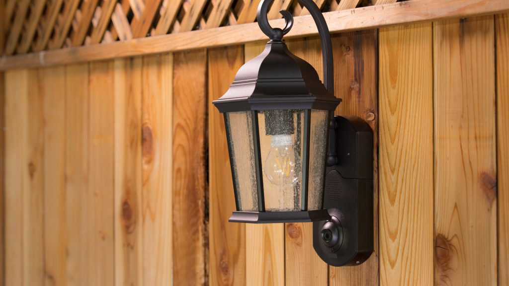 Smart outdoor lighting like the Maximus Smart Security Light provide connected lighting and surveillance in one.