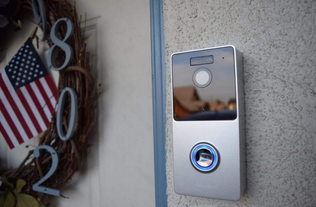 Smart doorbells and other surveillance Smart Home tech allow homeowners to view any guests and make sure deliveries stay put.