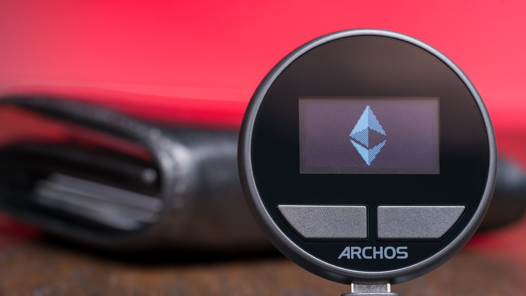 Crypto wallets like Archos deliver safety from hacking by being disconnected from the internet until in-use.