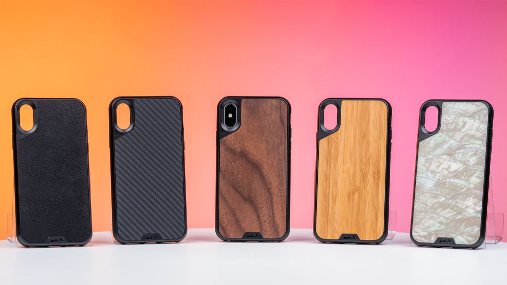 The Mous iPhone covers are high-quality options for stylish phone protection with patented technology.
