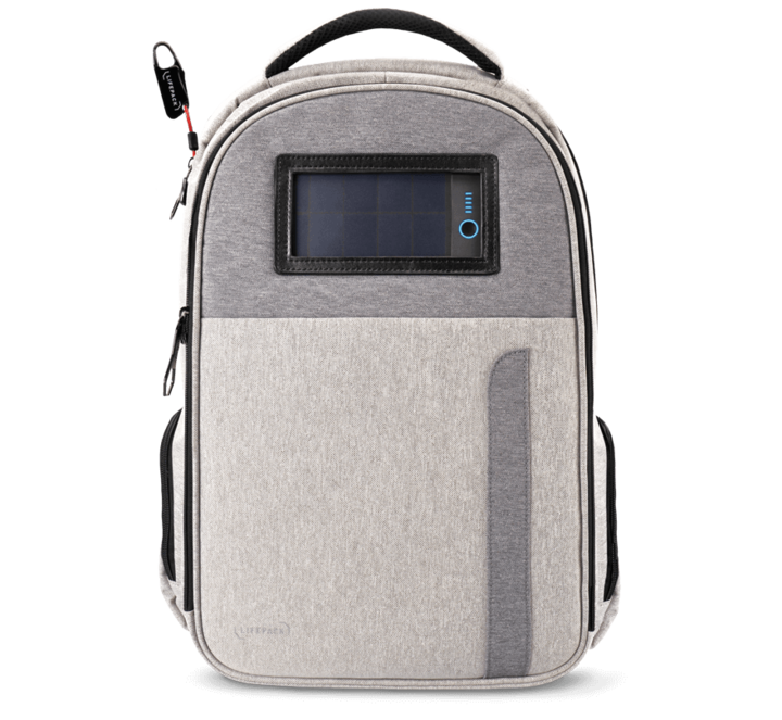 Apple users will love the Lifepack with it's portable power bank and solar charger built-in.