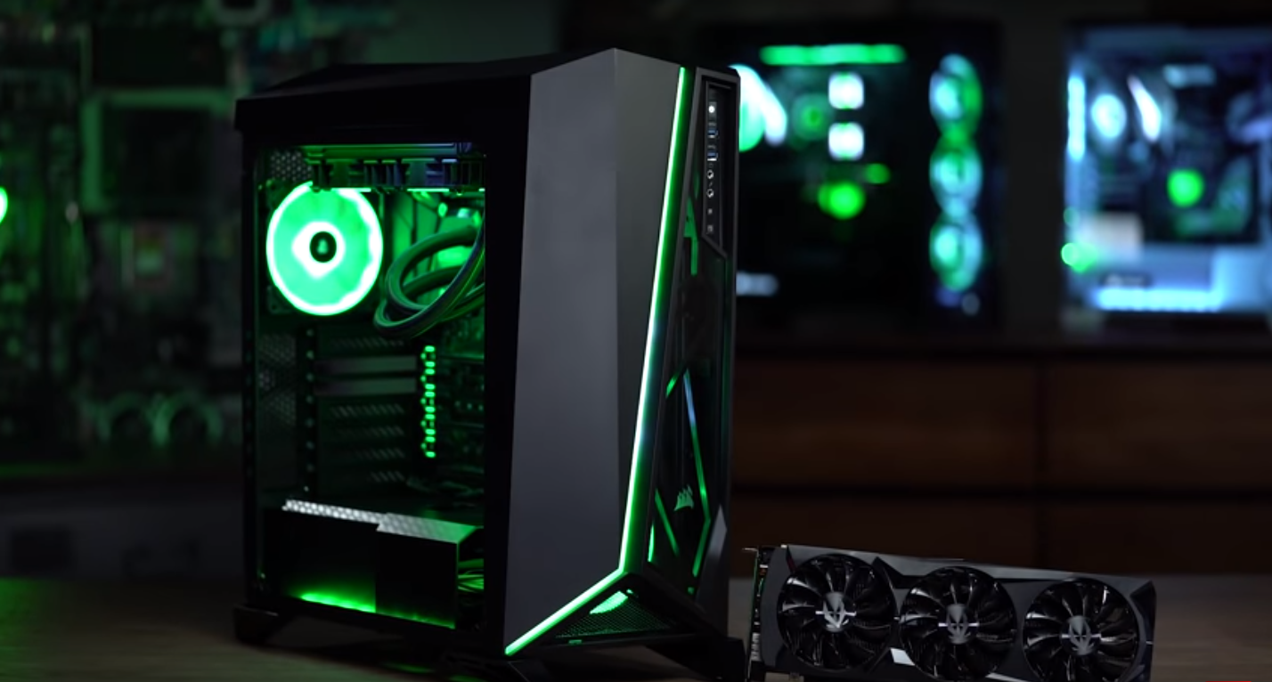 Newegg combined Corsair Hardware with the Nvidia RTX 2080 to create a great gaming PC that won't break your budget.