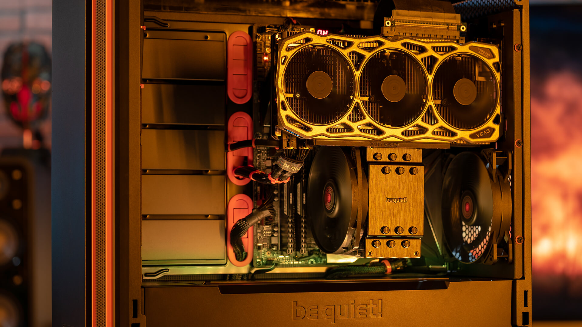 We've teamed up with BeQuiet! to build a performance gaming PC with some