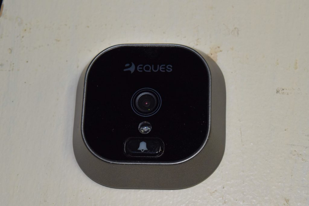 Eques' Greeter is an entry-level device perfect for those without Smart Home setups who want a little extra visibility on who is coming and going.