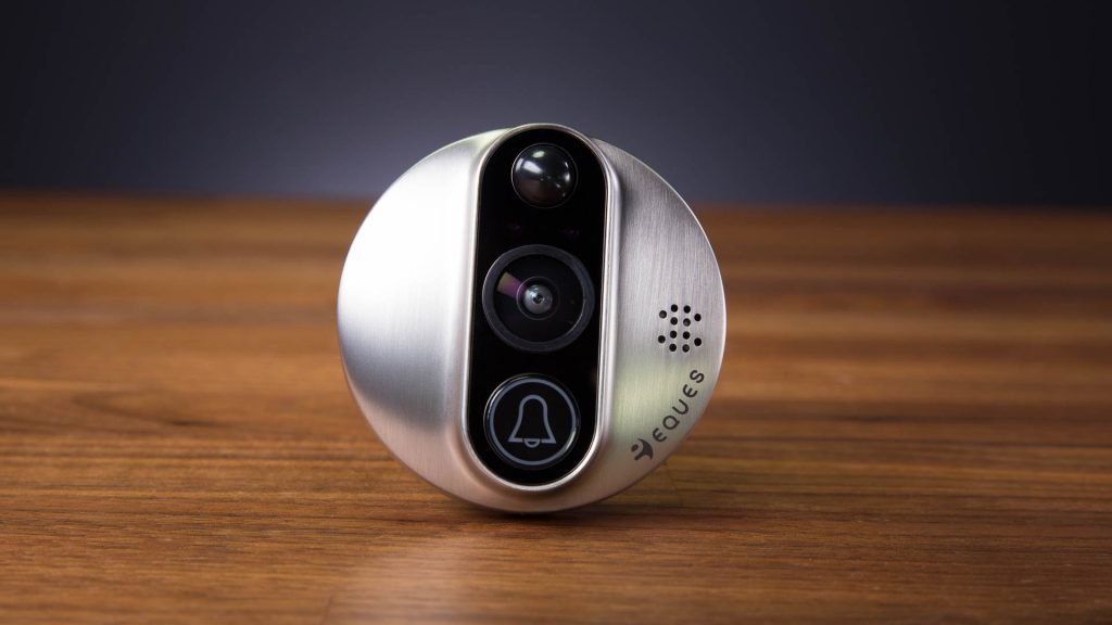 The Veiu smart peephole combines utility from a smart doorbell with an intercom system.