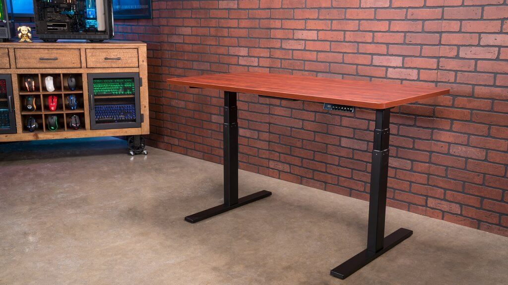 The Aimezo standing desk is a dual-motor electric option for those who want to transition between sitting and standing for work or leisure computer use.