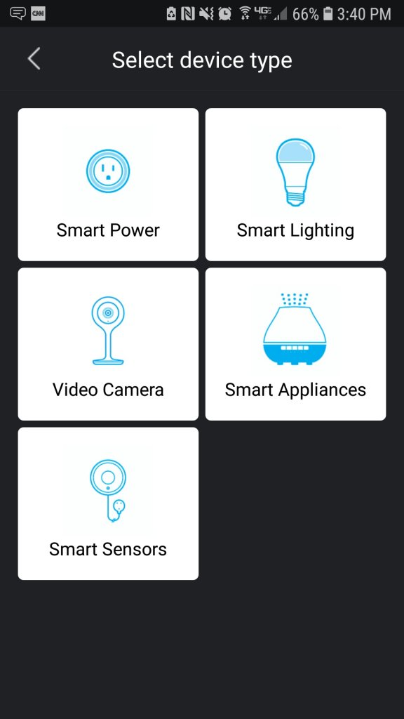 The Geeni suite of connected devices includes smart lighting, smart plugs, smart surveillance, and even small appliances like humidifiers that have app-enabled control.