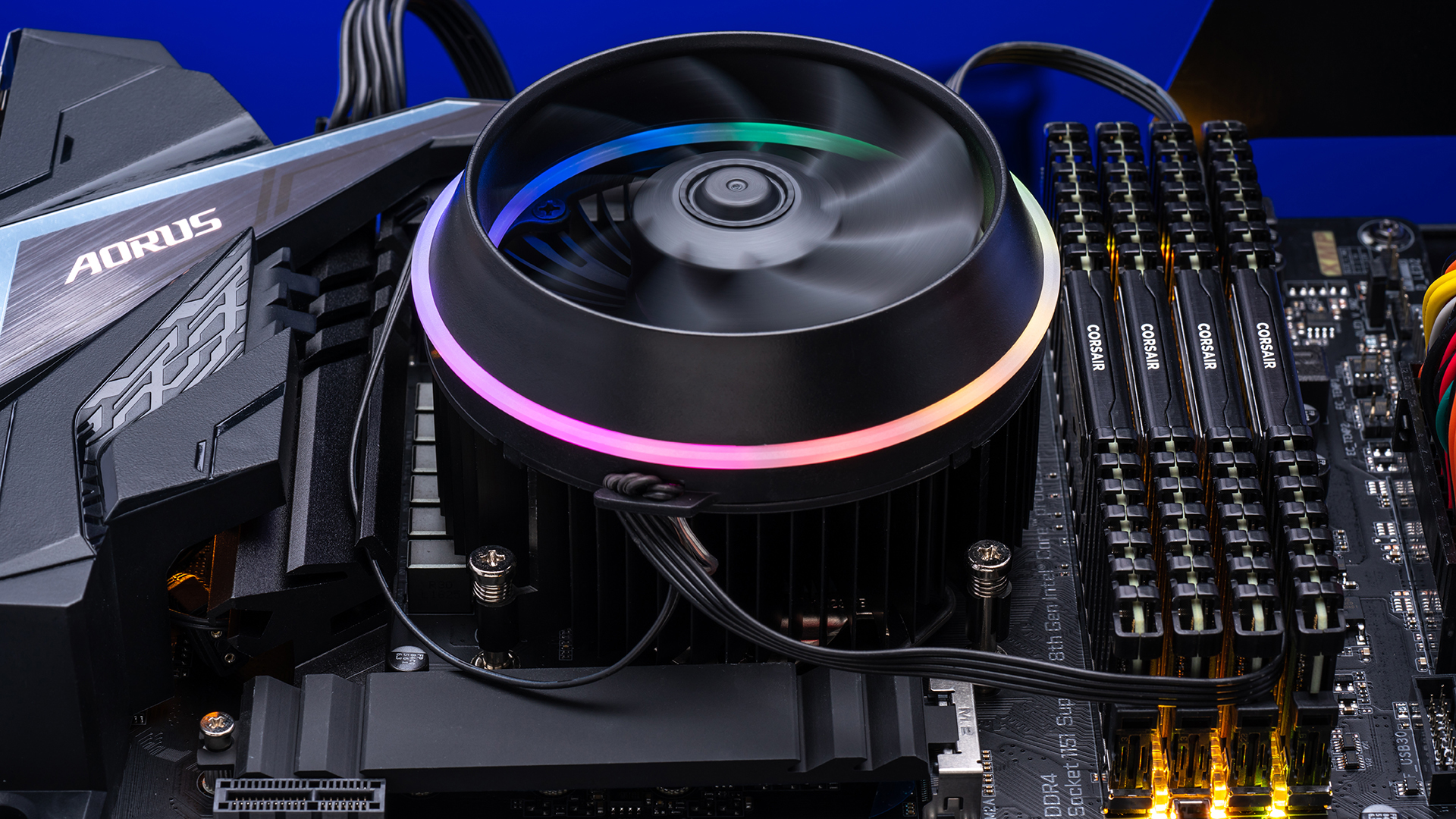 The darkFlash Shadow is the perfect beginner-friendly CPU cooler