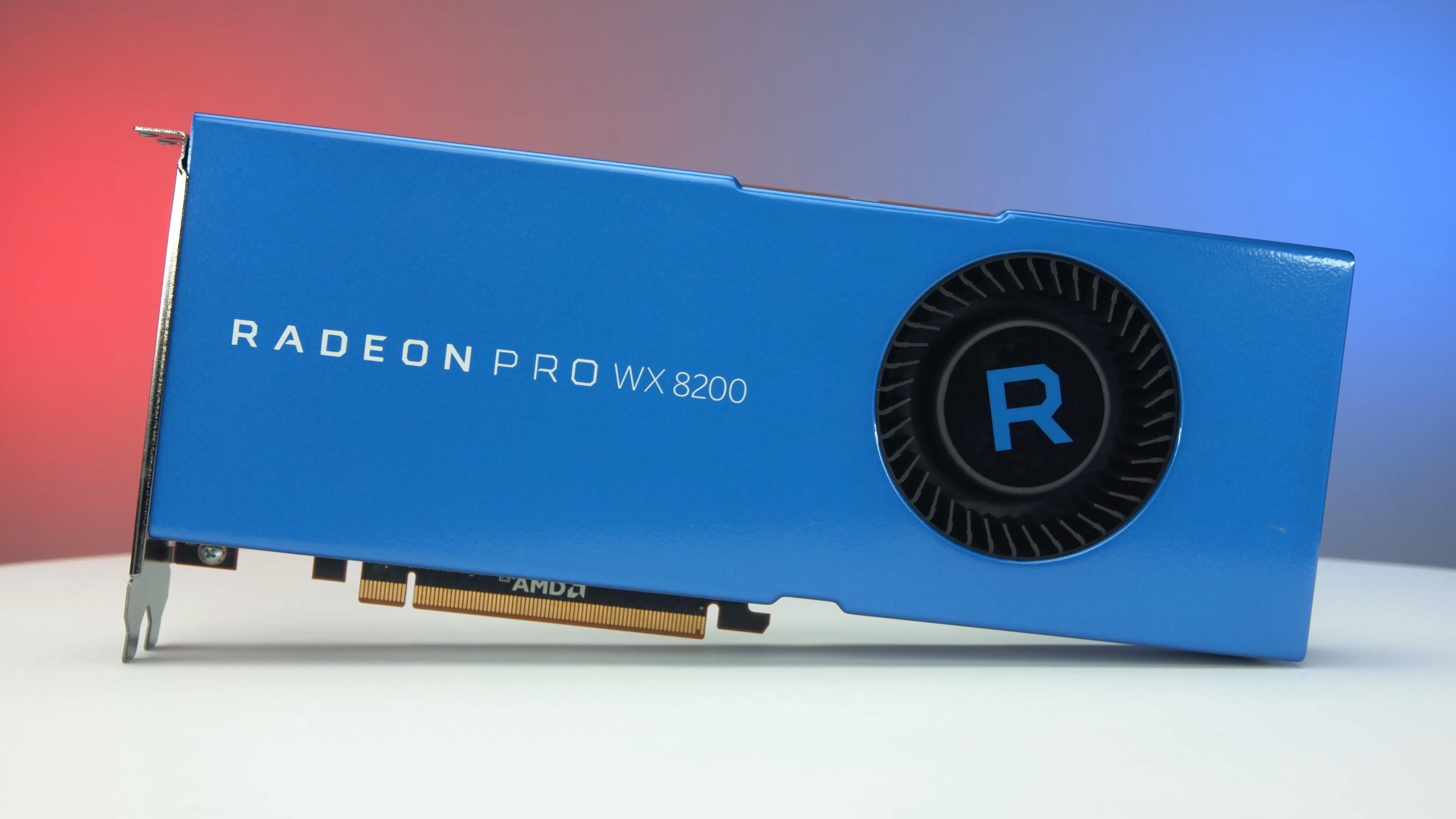 Newegg Insider: AMD Radeon Pro WX 8200 Graphics Card