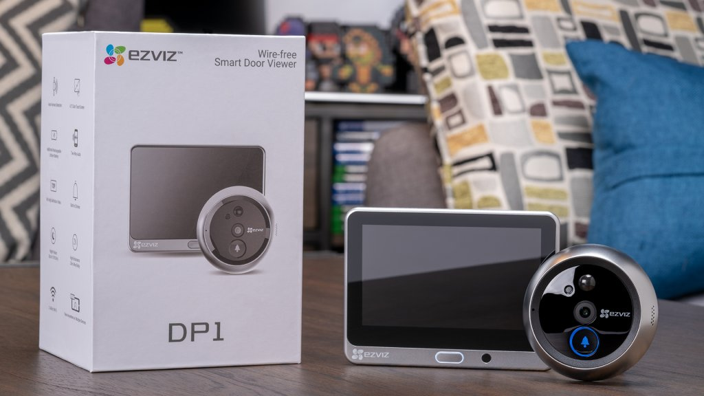 The EZVIZ DP1 smart peephole is the latest to a new niche of connected devices that targets security for smart apartments and the elderly.