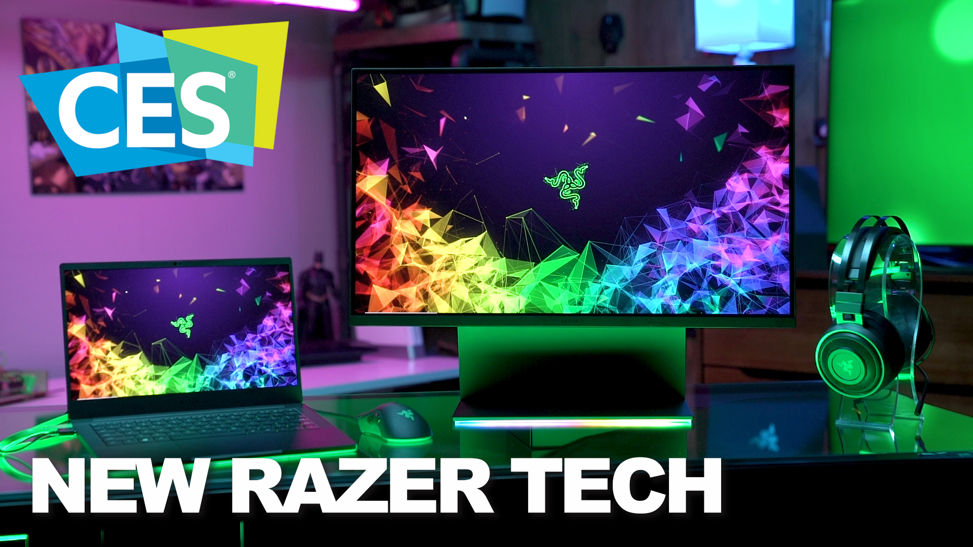 CES 2019: Razer unveils the Raptor Monitor and RTX Powered