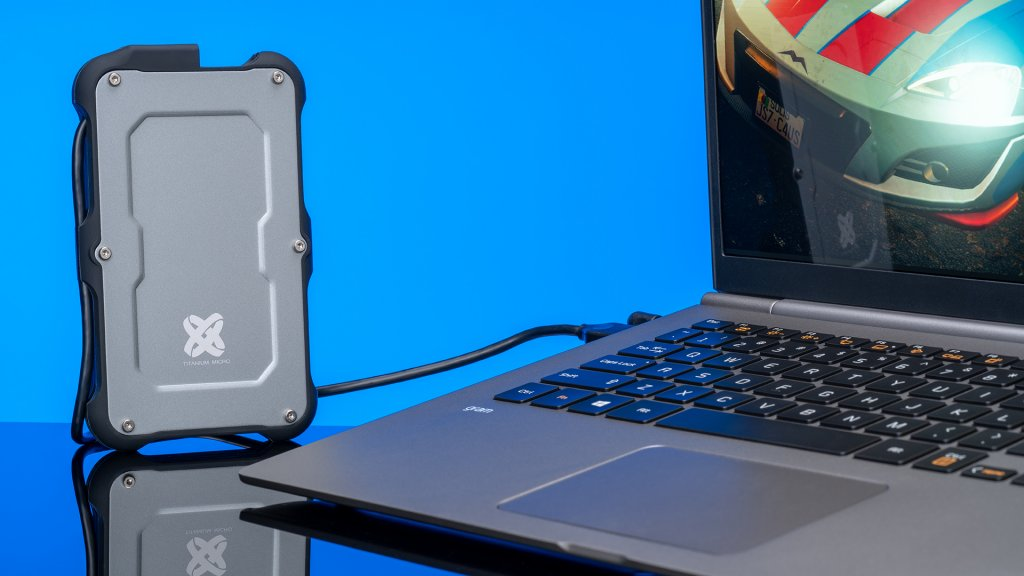 Titanium One portable SSD: Mobile performance for your