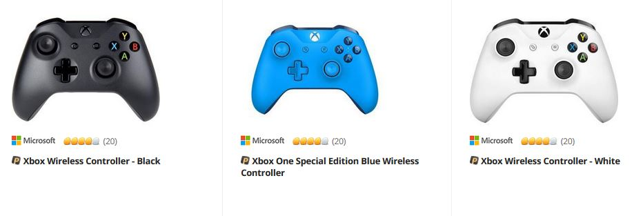 xbox controllers on Newegg
