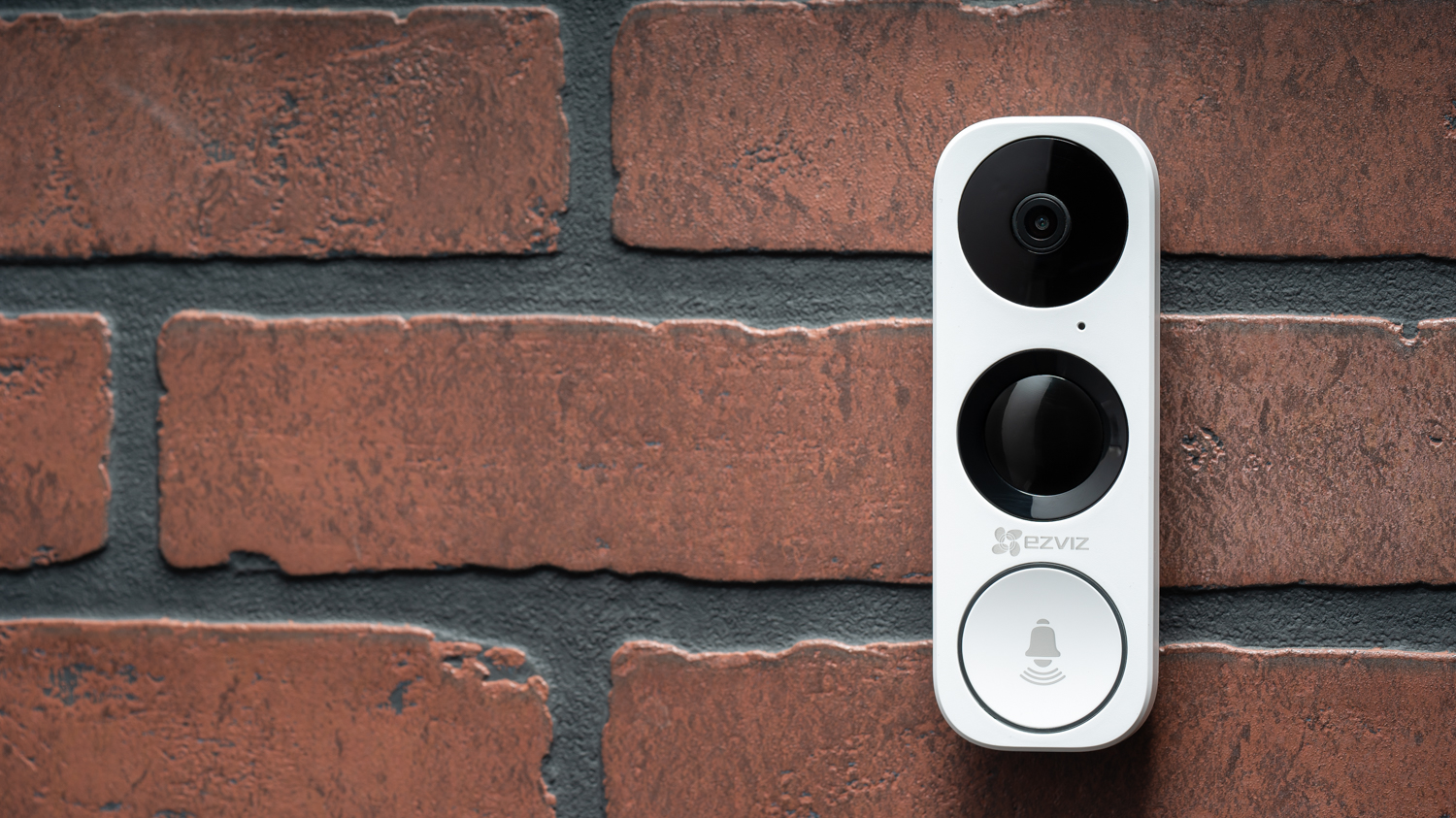 The EZVIZ DB1 is a sleek video doorbell addition to their Smart Home ecosystem