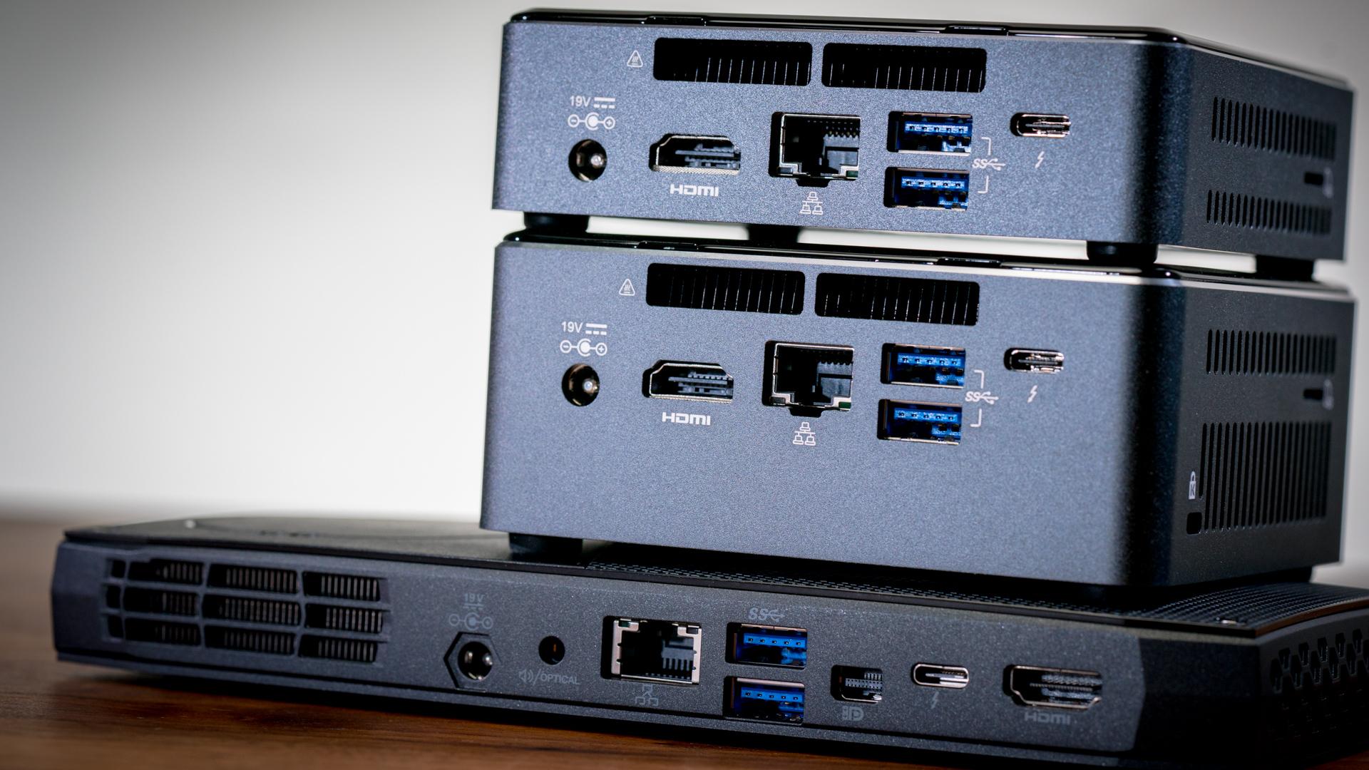 intel nuc ports