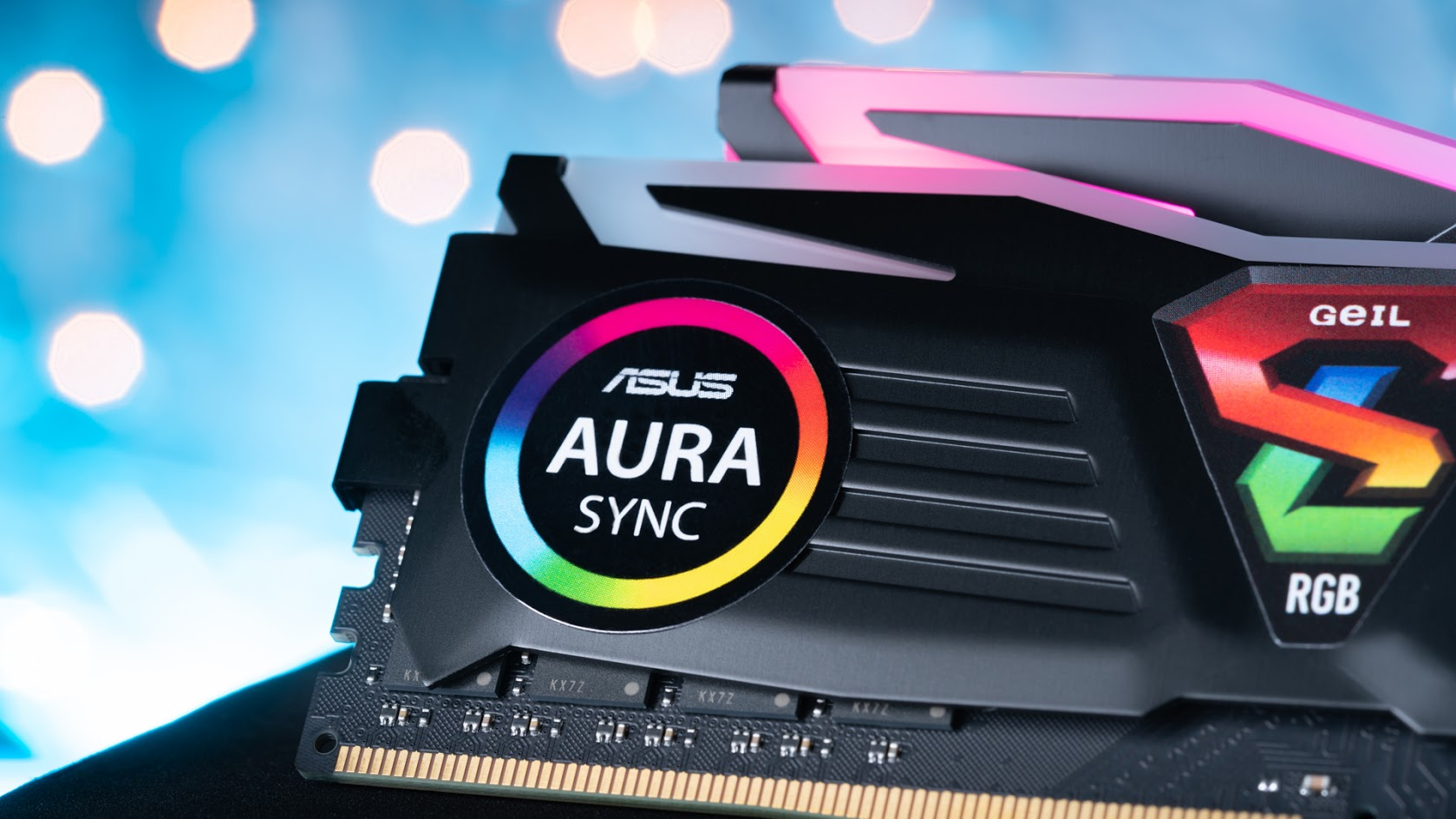 GeIL Super Luce RGB Sync RAM shines bright in AMD boards