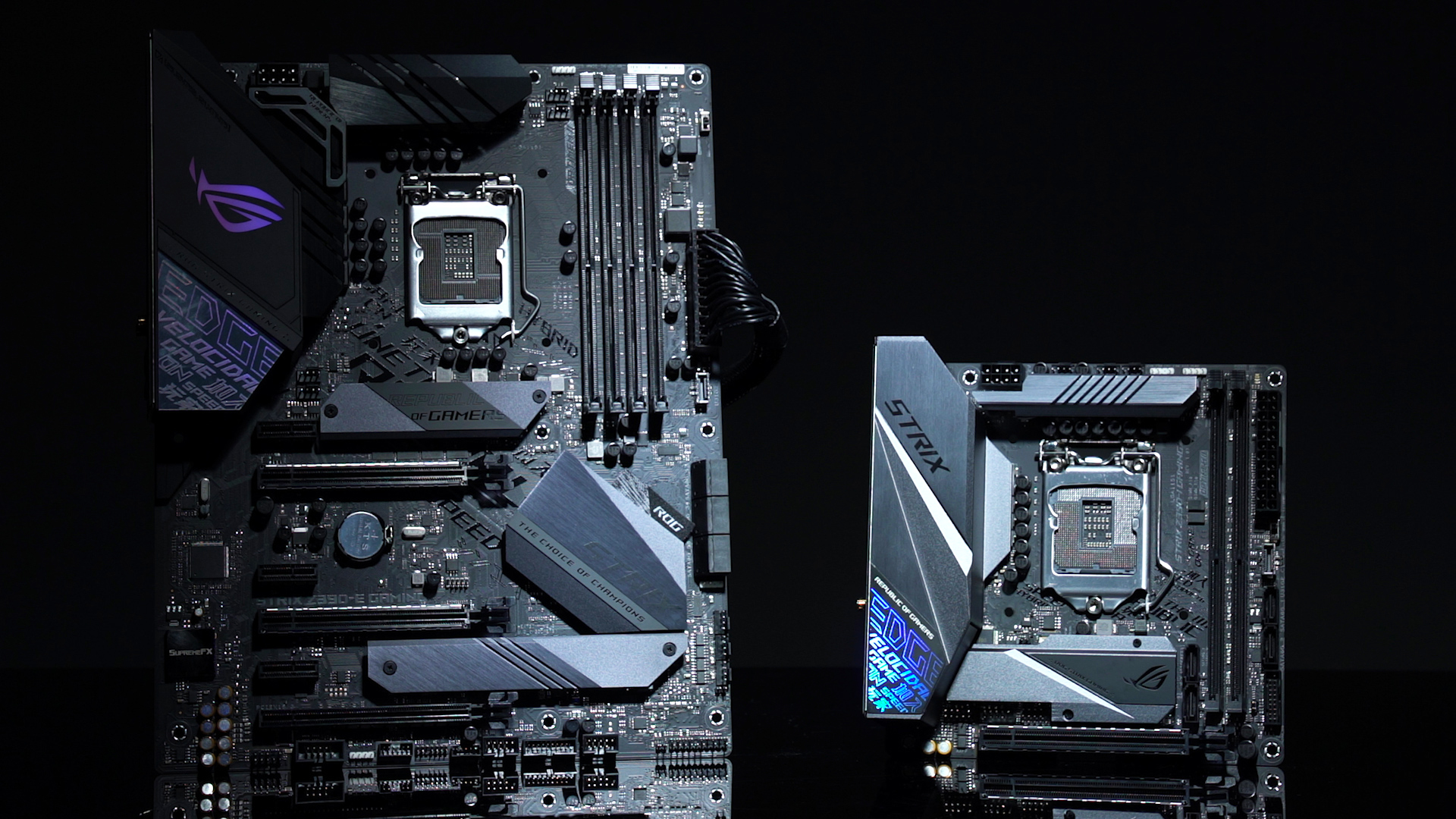 Asus Rog Strix Z390 E Gaming Strix Z390 I Gaming Motherboards Detailed Analysis Newegg Insider