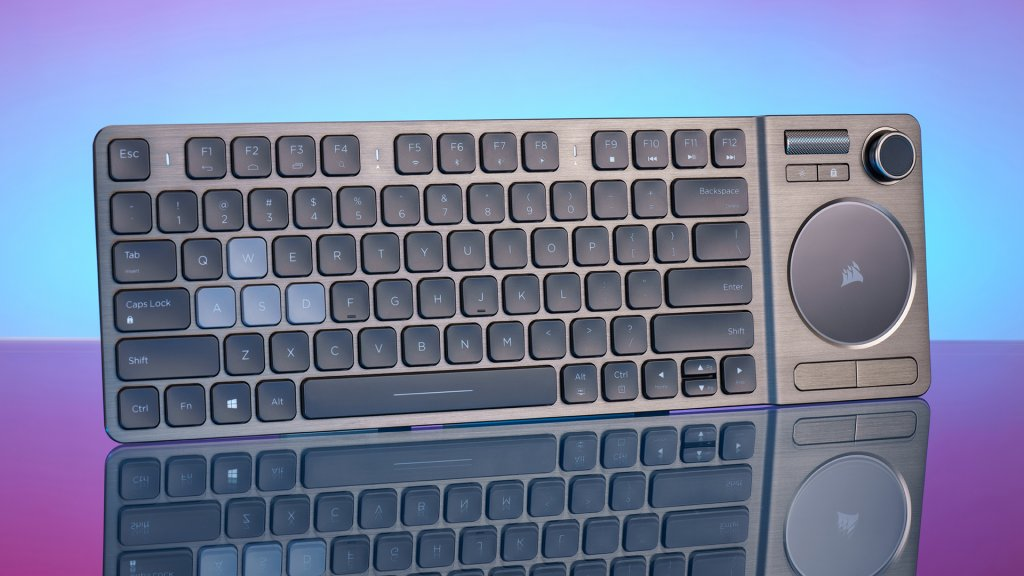 The Corsair K83 Wireless Keyboard Is A Slick Wireless