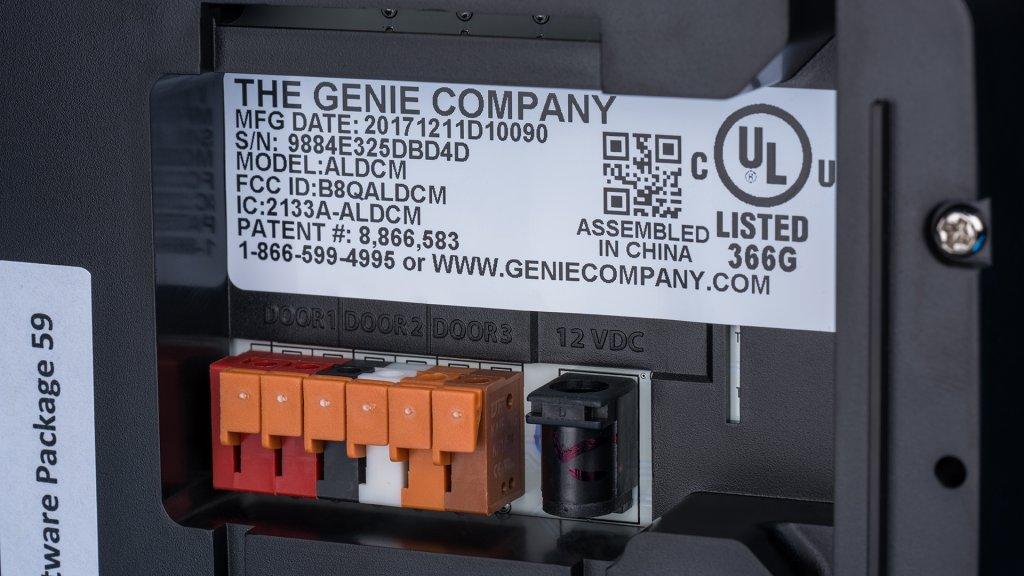 genie's aladdin connect smart garage door opener is a straightforward  installation, working on most garage