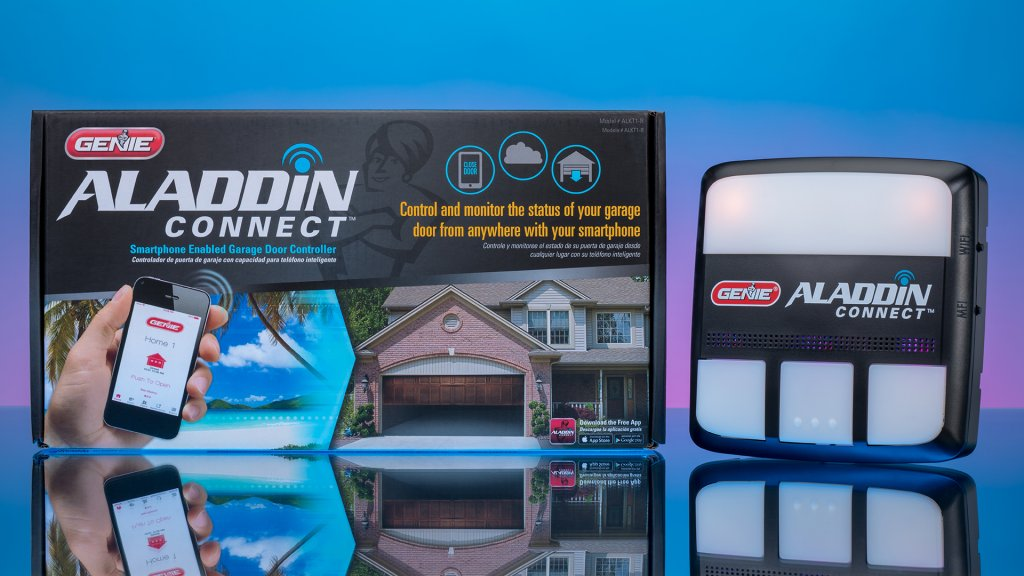 When the Genie Aladdin Connect smart garage door system is integrated into the home, users have advanced awareness of what is going on. With the rollout of IFTTT and voice controller integration in Spring 2019, it will be a contender for one of the best smart garage controllers.