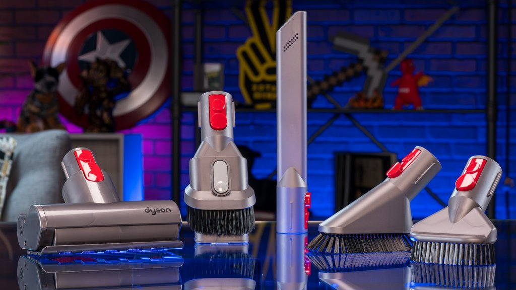 The Dyson V11 cordless vacuum comes with a number of attachments that give you flexibility in your cleaning.