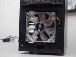 CPU fan upgrade - front fan