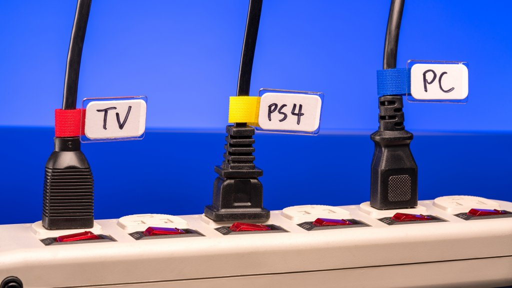 True to its name, Label-the-Cable's Mini Tags let you easily label and organize all your cords and cables.