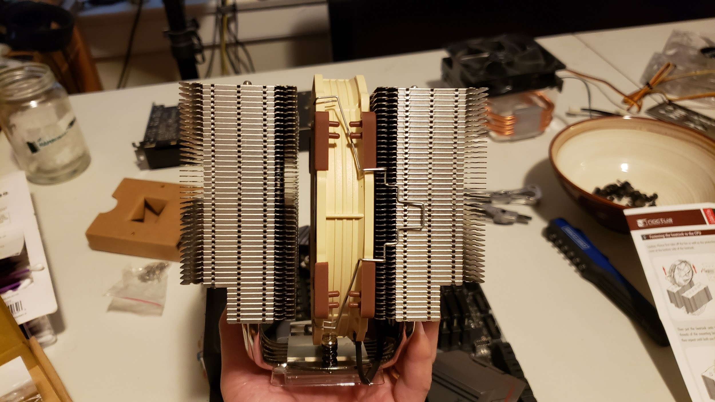 noctua fan installation profile