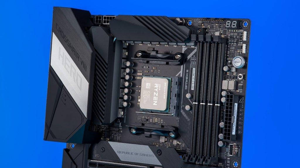 ASUS crosshair hero x570 motherboard