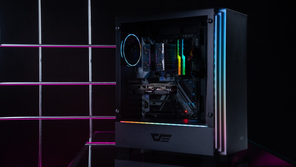 darkFlash once again impresses with their beautiful and reliable RGB components,, like the J11 case and L6 cooling fan.